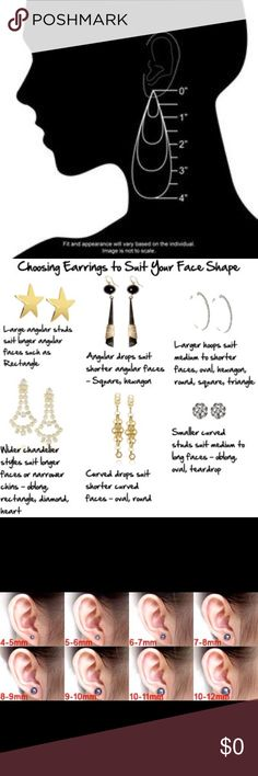 Help to pick ear rings size And style Jewelry Earrings