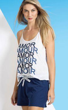 ALEXA -  Printemps, saison de l'amour! A riqueza dos azuis e dos detalhes. Modal 100% e tricoline plumetí 100% Algodão.