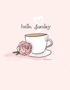 Sundays ..sigh ...my favorite day