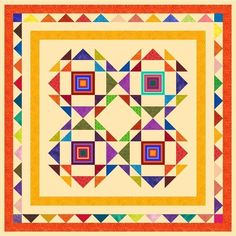 """HIAWATHA - 54"""" - Pre-cut Patchwork Quilt Kit by Quilt-Addicts Lap #QuiltAddicts"""