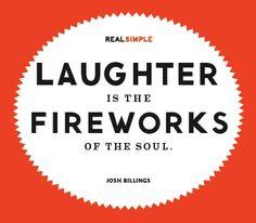 Josh Billings on LaughterMy Incredible Website