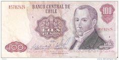 BILLETE DE CHILE DE 100 PESOS DEL AÑO 1981 (BANK NOTE)