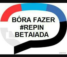 #EuSouBeta#BetaAjudaBeta#Repin#BetaLab