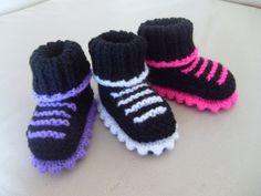 Baby Trainer Boots Booties Newborn 0 3M 3 6M Goth Rock Punk Metal Biker | eBay