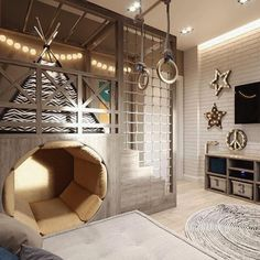 dream rooms for adults ; dream rooms for women ; dream rooms for couples ; dream rooms for adults bedrooms ; dream rooms for adults small spaces Cool Kids Rooms, Boys Room Ideas, Cool Boys Room, Kids Rooms Decor, Cool Kids Beds, Creative Kids Rooms, Rustic Kids Rooms, Kids Bunk Beds, Playroom Ideas