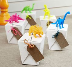 Styled Sealed Delivered - Dino Noodle Box Set - kids party - event decoration - party favours - dinosaurs - neon