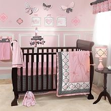 Lambs & Ivy Duchess 9-piece Crib Bedding Set
