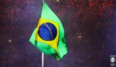 Olimpiadas Rio 2016-BANDEIRADOBRASILLenalima fotografa em Belo Horizonte.