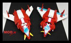 VOLTES  35 cm lego    VS      Voltes 35 cm lego pieces modified