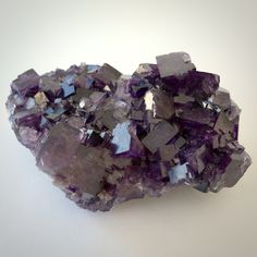 If you are longing to be aware of your connection to the Divine but have trouble turning off your over-analytical monkey mind, try this PURPLE FLUORITE from Mexico. Fluorite is a mineral that manifest