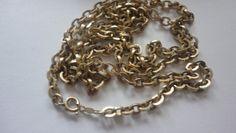 12 Karat gold filled circle chain necklace