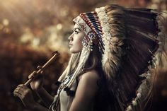 indian playing flute by Ivan Lee on 500px