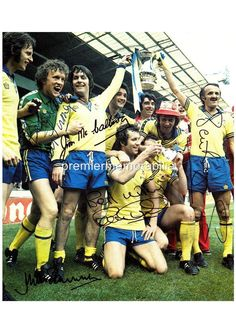 SOUTHAMPTON FC 1976 FA CUP MIKE CHANNON PETER OSGOOD IAN TURNER SIGNED (PRINTED) Southampton Fc, Places In England, School Football, Fa Cup, My Youth, Sign Printing, World History, Hampshire, Arsenal