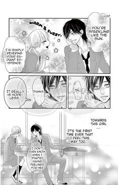 Ohisama ni kiss Anime Couples Hugging, Anime Couples Manga, Manga Anime, Manhwa Manga, Anime Love, Cute Romance, Romance Anime, Anime Watch, Romantic Manga