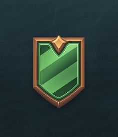 Ranked icons done for Paladins competitive system. Was fun figuring out a system to represent the different tiers but still have each one feel somewhat unique. Because as you move up in the system, your corresponding number is lower(example, Gold II Game Gui, Game Icon, Game Ui Design, Icon Design, Ui Elements, Design Elements, Vector Design, Logo Design, Ui Buttons