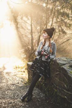 Northern Ireland sunshine, outshone by Rebecca