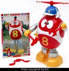 Popy Hatchan 8-Chan Robot by toytent, via Flickr