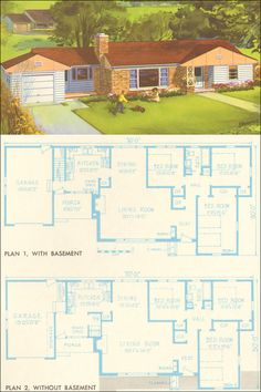 1954 National Plan Service - Plan 7309