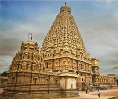 Did you know that the World's First Granite Temple is the Brihadeswara Temple at Tanjavur, Tamil Nadu. The shikhara of the temple is made from a single 80-tonne piece of granite.