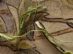 tips and hints for silk ribbon embroidery