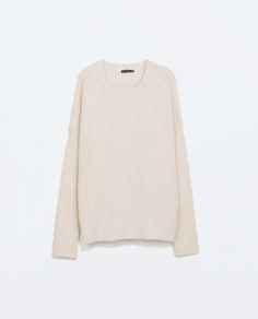 BATWING SLEEVED SWEATER from Zara