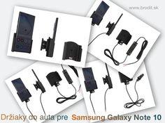 Nové držiaky do auta pre Samsung Galaxy Note 10 N970. Pasívny držiak Brodit pre pevnú montáž v aute, aktívny s CL nabíjačkou, s USB alebo s Molex konektorom. Galaxy Note 10, Mercedes Benz, Samsung Galaxy, Usb, Notes, Report Cards, Notebook