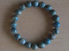 Variscite   Bracelet 7 Inch Wrist by Crystalcures4u on Etsy