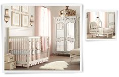 IF I had all the money in the world, my nursery would absolutely be furnished with Restoration Hardware :)