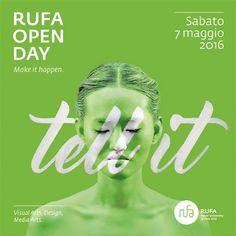 由Intorno设计的RUFA Open Day 2016 by Instagram:@betype
