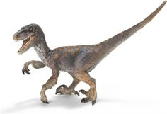 Schleich Dinosaur Velociraptor -   15.5cm solid plastic toy dinosaur from Schleich, made to last and perfect as a collectable or a gift.