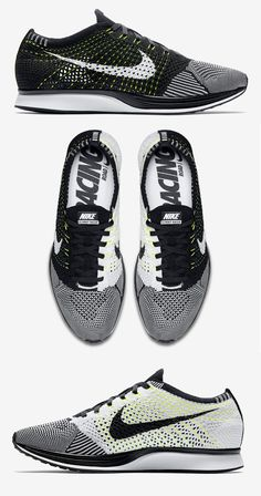 Nike Flyknit Racer: Black/White Best Sneakers, Sneakers Fashion, Fashion Shoes, Nike Free Shoes, Nike Shoes Outlet, Nike Flyknit Racer Black, Baskets, Nike Basketball Shoes, Nike Outfits