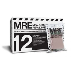 12-Case of 3-Course MREs (Meals, Ready to Eat)  CAD$ 134.95