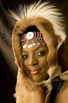 Princess Nandi of the Zulu nation (South Africa)