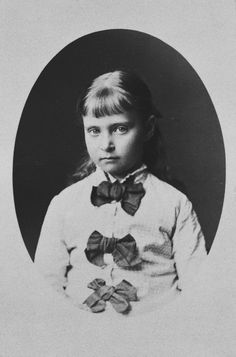Princess Alix of Hesse, 1878 [in Portraits of Royal Children Vol.23 1878-79]   Royal Collection Trust