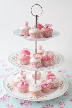 Bokaditos - Minicupcakes para celebrar el nacimiento de Elena