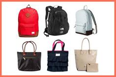 styles backpacks, clutch bags, shoulder bags, plus purses and tote bags