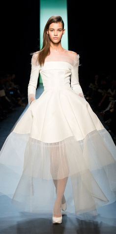 Breathtaking Bridal Dresses From Spring 2015 Couture Fashion Week - Jean Paul Gaultier from #InStyle