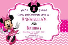 Minnie Mouse Party Invitations Templates Free printable minnie mouse birthday invitations gallery photos 1280 X 853