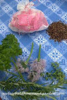 Cheesecloth Uses in the Garden ~ practical and recyclable