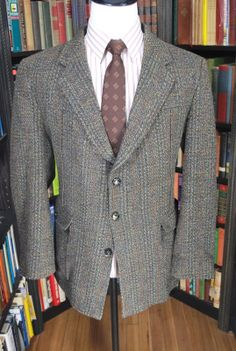 Great Norfolk Jacket made from a certified Harris Tweed.