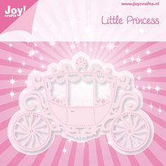 Cutting & Embossingstencil - Little Princess - Koets