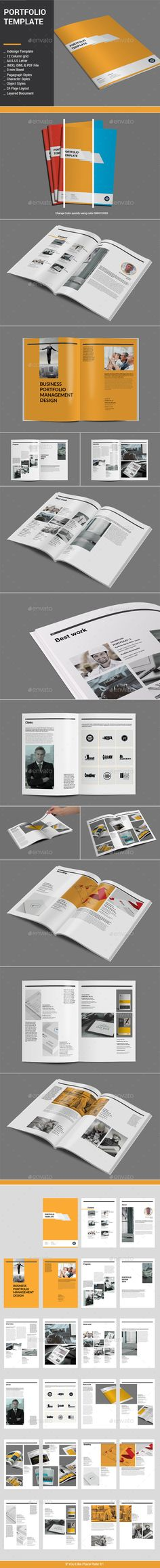 Photographer Portfolio \/ Photo Album Photographer portfolio - fashion design brochure template