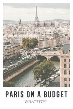 Travel Tips for Visiting Paris on a budget. When it comes to visiting Paris, you do generally expect that your trip will be costly. #Paris #France