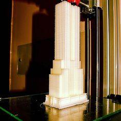 Something we liked from Instagram! #EmpireStateBuilding in stampa con kit #3dielle! Materiale utilizzato #PLA Tempo di stampa 15h Altezza oggetto 28cm Testina di stampa #HLC #hotendliquidcooled #3dline #3d #3dprint #3dprinting #3dprinter #3dprinted #stampa3d #stampante3d #3ddesign #architetto #architecture #3darchitecture #stampaletueidee #stampaituoiprogetti #reggioemilia #3drendering #3dmodel #design #designer #printing #3drendering #maker #reprap by 3dline_stampanti3d check us out…