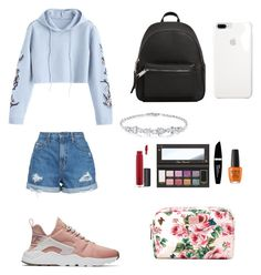 """California outfit"" by agathapodariu on Polyvore featuring Nobody Denim, NIKE, MANGO, Max Factor, Dolce&Gabbana and John Lewis"