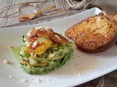Tartare di Zucchine e Patate