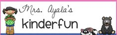 FREE FRIDAY!!   Check out out my latest post on blogger and my facebook page!!    Mrs. Ayala's Kinder Fun