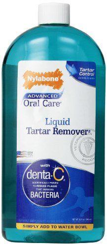Nylabone Advanced Oral Care Liquid Tartar Remover, 32-Ounce