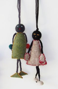 Little Person  KeyChainMiniaturess by AnnaLela on Etsy, $12.50