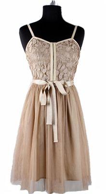 Lace Interlude Dress....very pretty
